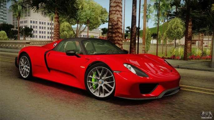 Porsche GTA SA carros