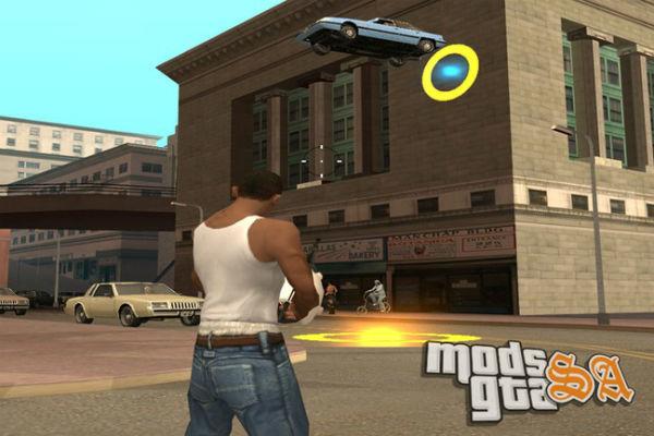 Portal Gun GTA San Andreas