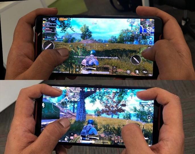 Melhor posição dedos - Call of Duty Mobile