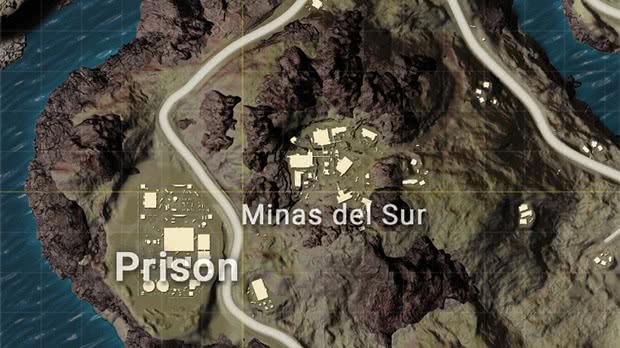 Prisao Mapa Miramar Pubg