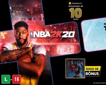 PS Plus de julho revelada com 3 jogos!