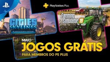 Jogos da PS Plus de maio são oficialmente revelados!