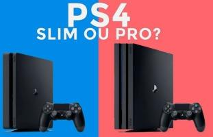 PS4 PRO vs. PS4 Slim: qual o modelo ideal para você?