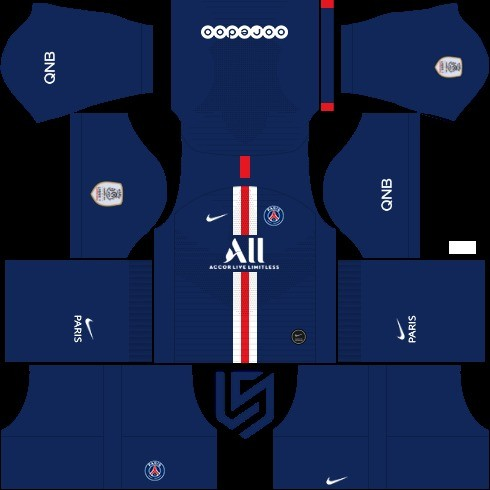 PSG dream league soccer kit