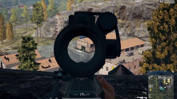 PUBG Sniper na Prisão