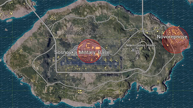 Ilha Base Militar Pubg