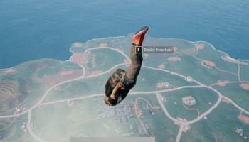 PUBG: como cair mais rápido de paraquedas
