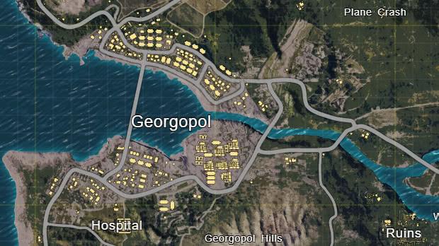 Pubg Cidade de Georgopol