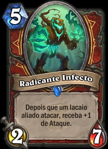 Radicante Infecto - Hearthstone