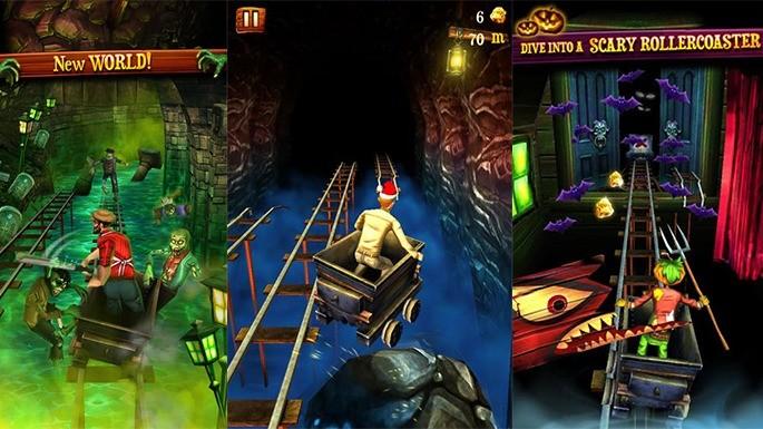 Rail Rush - Jogos parecidos com Subway Surfers