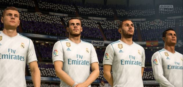 Real Madrid Modo Carreira - FIFA 18