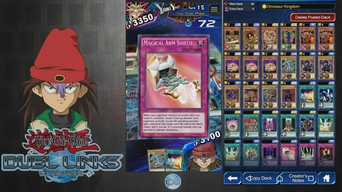 Rex Raptor Duel Links