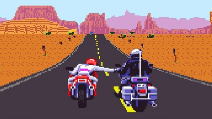 Road Rash Mega Drive