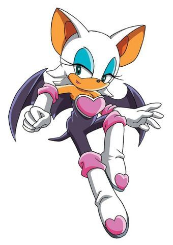 rouge sonic
