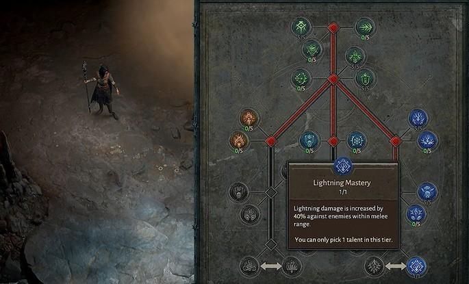 Árvore de Talentos - Diablo IV
