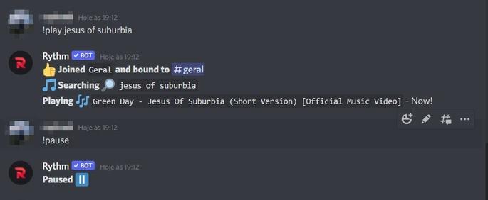 Como colocar música no Discord