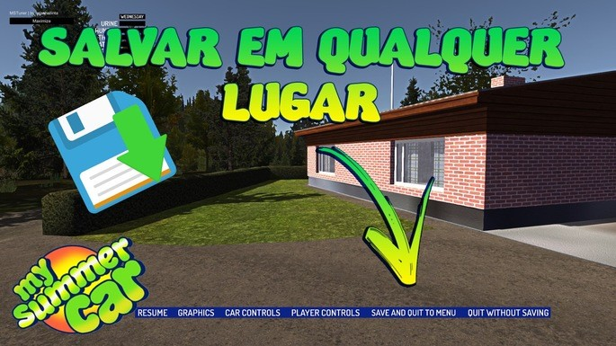 Salvar a qualquer hora mod my summer car