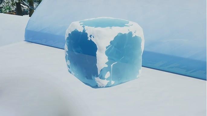 Saque Congelado 2 - Fortnite