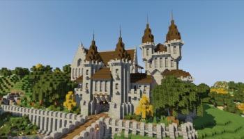 8 seeds de castelos para Minecraft versão PC!