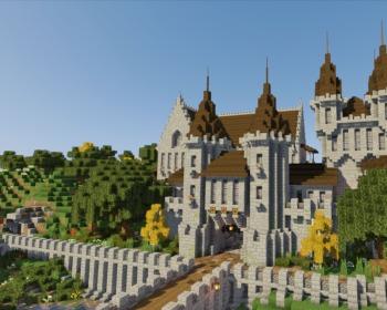 10 seeds de castelos para Minecraft!