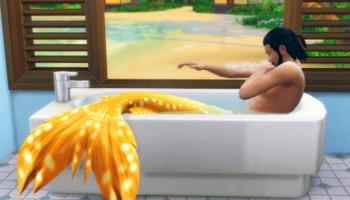 Aprenda a se transformar em sereia no The Sims 4