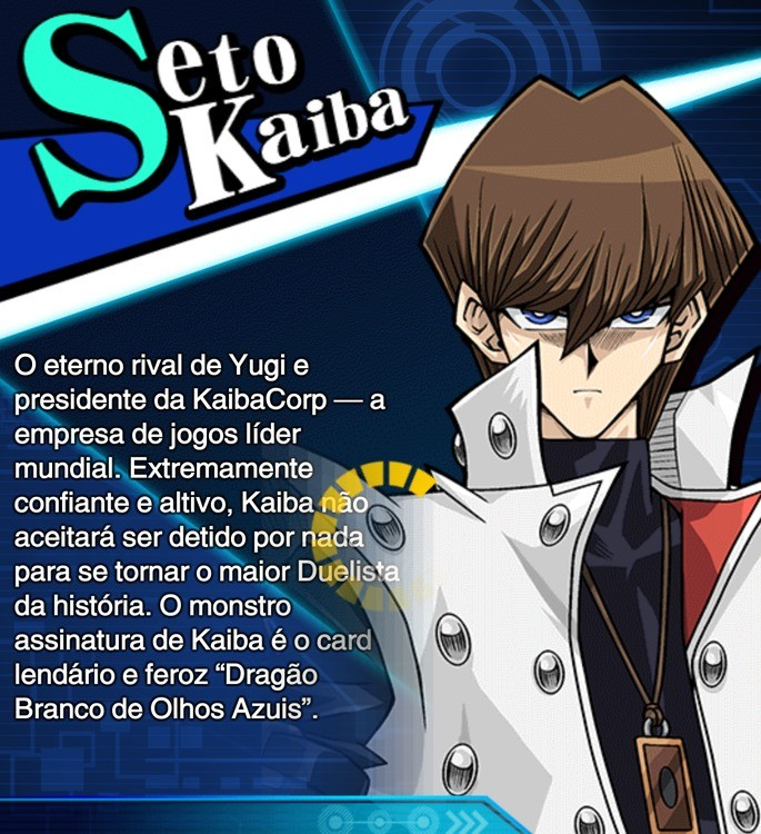 seto kaiba habilidades duel link