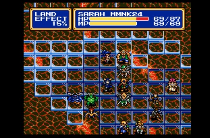 Shining Force 2 mega drive