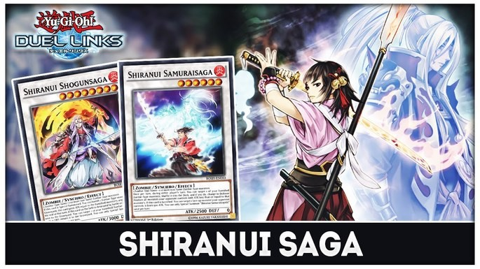 Shiranui Saga Yugioh Duel Links deck