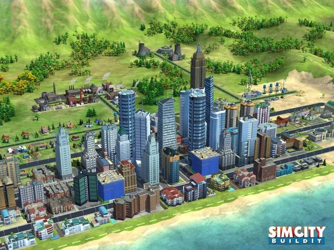 SimCity Build It arquitetura