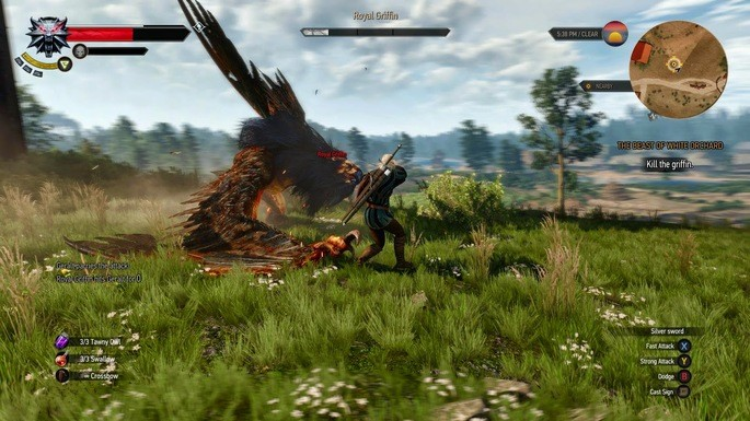 Sistema de dodge the witcher 3 mod