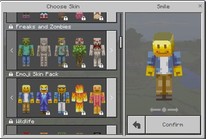 Skins do Minecraft