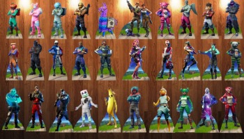 As 15 skins mais raras de Fortnite!
