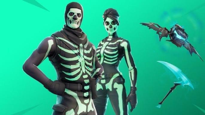 Skins mais raras do Fortnite