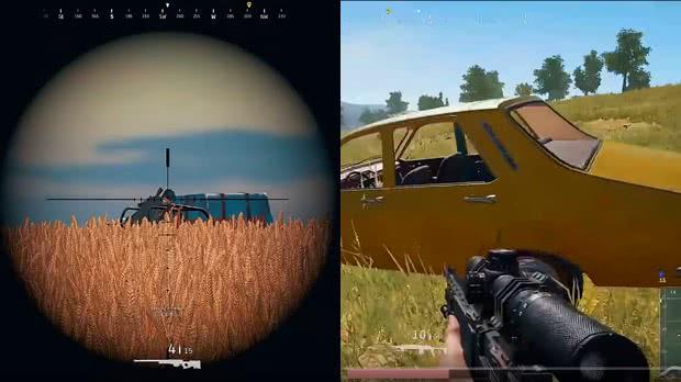 Sniper e Dmr PUBG armamento