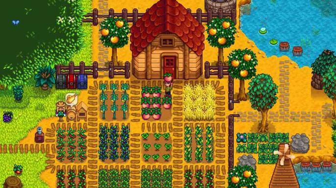 stardew valley plantação