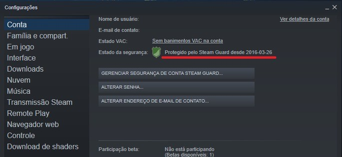 Steam Compartilhamento 1