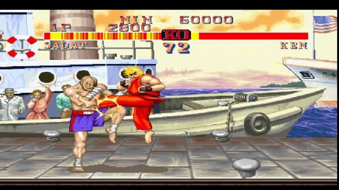 Street Fighter II ps1