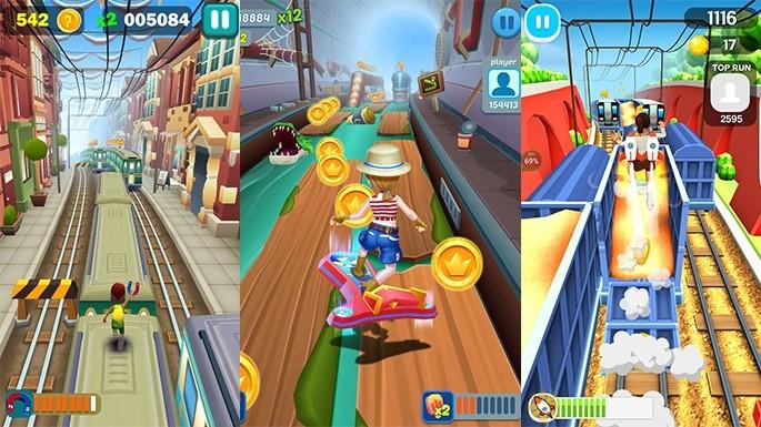 Subway Runner - Jogos parecidos com Subway Surfers