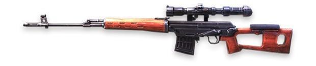 SVD sniper Free Fire