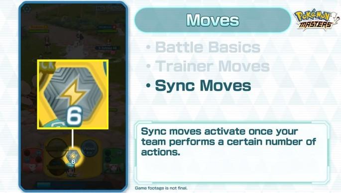 Sync Moves Pokémon Masters