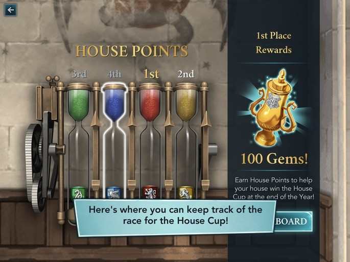 Taça das Casas Hogwarts Mystery