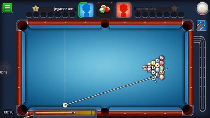 Tacada Inicial - 8 Ball Pool