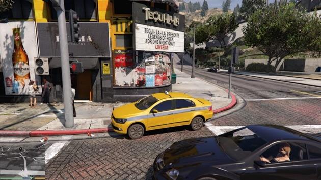 Táxi carioca GTA V MOD