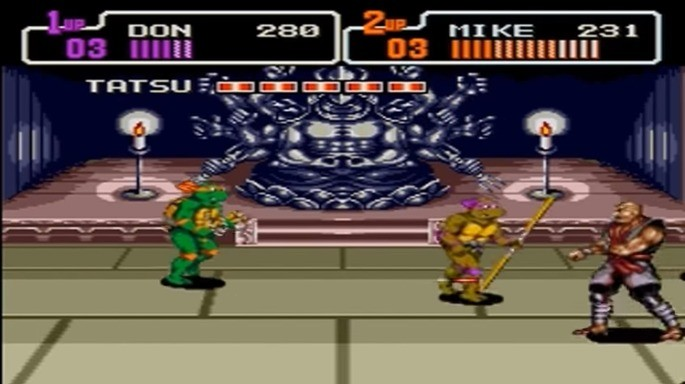 Teenage Mutant Ninja Turtle: The Hyperstone Heist mega drive