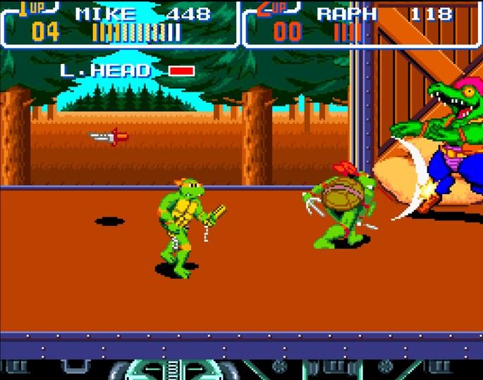 Teenage Mutant Ninja Turtles 4: Turtles In Time