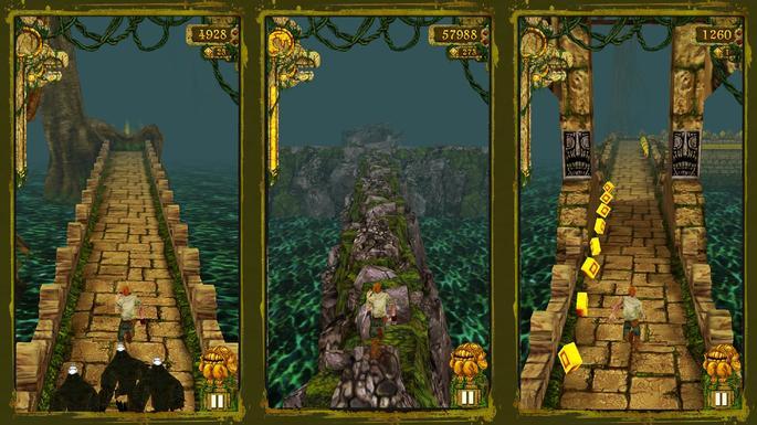 Temple Run - Jogos parecidos com Subway Surfers