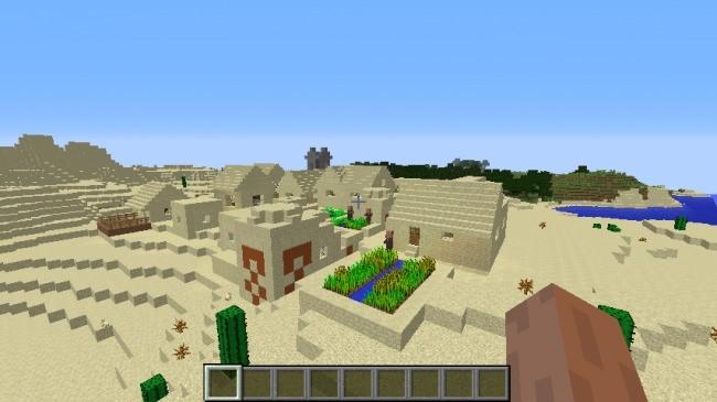 Templo desértico - Semillas minecraft