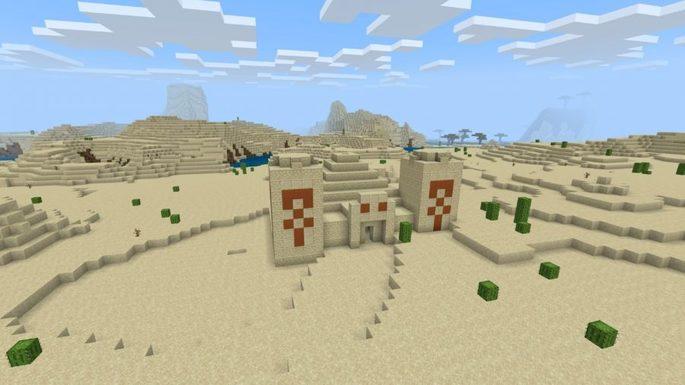 templo no deserto seed