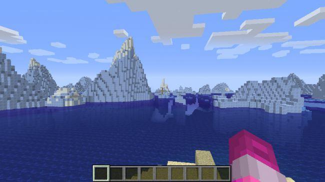 Terra de gelo minecraft