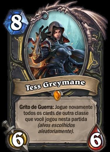 Tess Greymane - Hearthstone